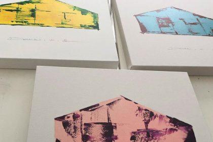 """Art for interior """"Hugge Hus"""""""